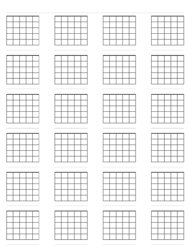 6 String Chord Diagrams