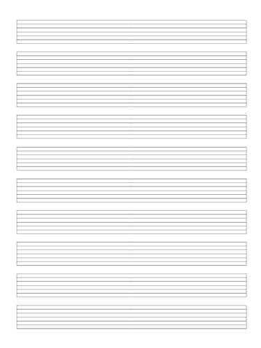 7 String Guitar Tab