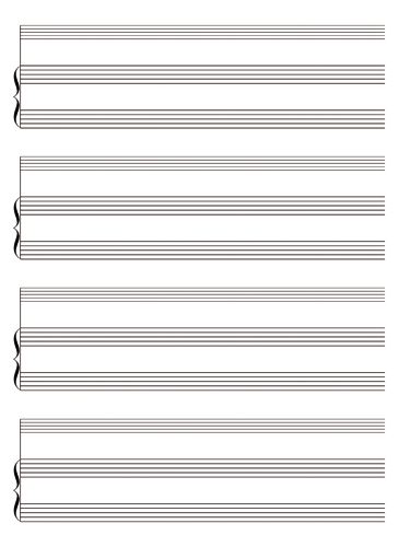 Piano With Solo Instrument Accompaniment Notebook