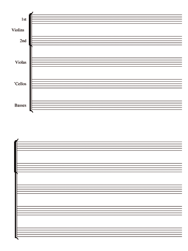 String Orchestra Notebook