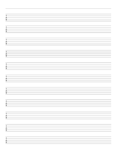 Red 5 String Bass Tab